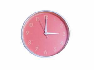 かわいい時計、時間